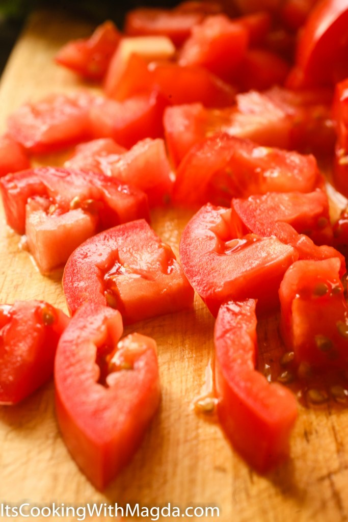 Chopped tomatoes