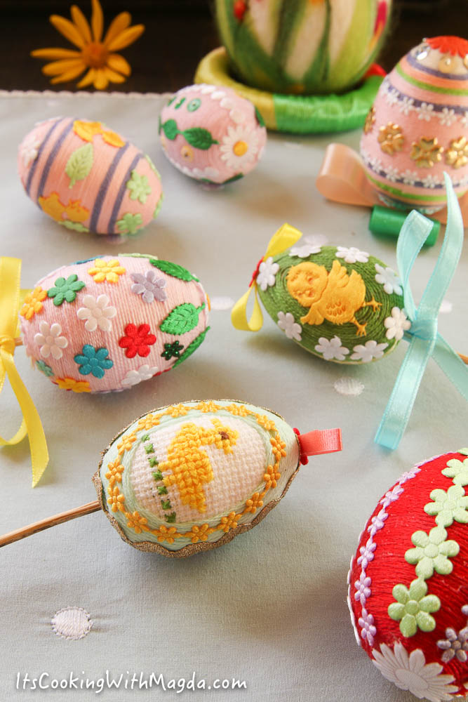 decorative diy easter eggs