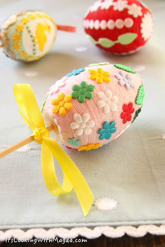 handmade decorative easter eggs