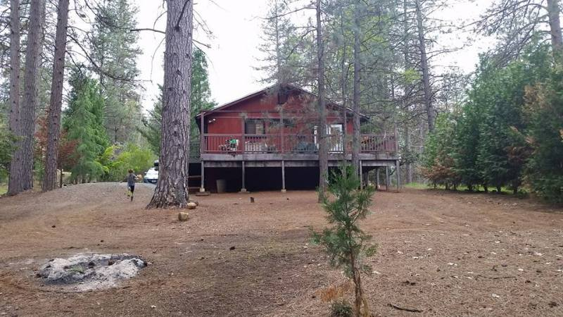 cabin in groveland, ca