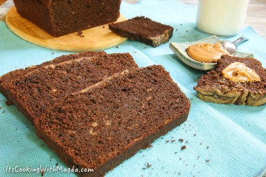 buckwheat chocolate banana bread