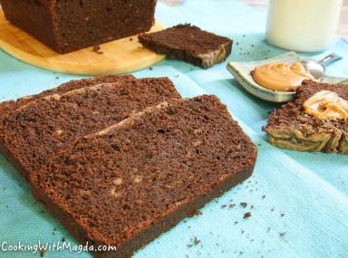 buckwheat chocolate banana bread