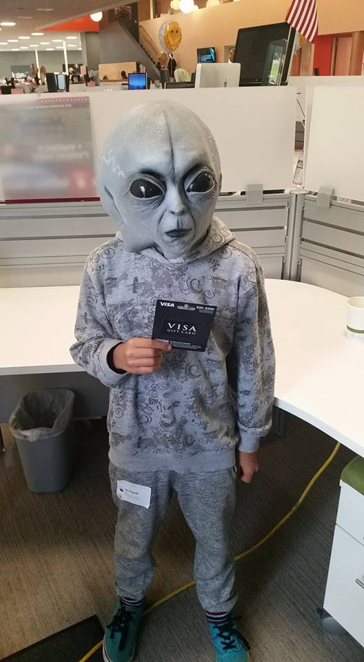 alien halloween costume