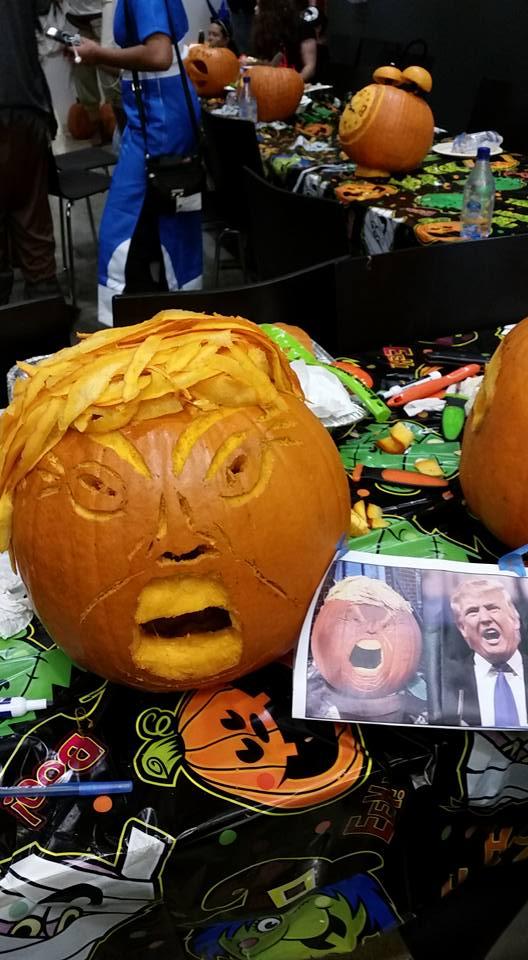 trumplike pumpkin